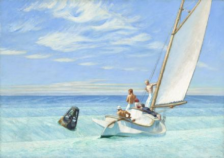 Hopper, Edward: Ground Swell. Fine Art Print/Poster. Sizes: A4/A3/A2/A1 (004179)